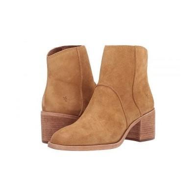 Frye フライ レディース 女性用 シューズ 靴 ブーツ アンクル ショートブーツ Monroe Seamed Bootie - Brandy