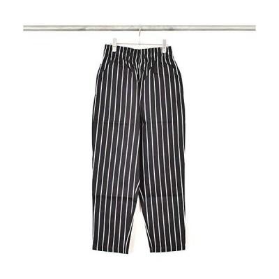 [Cookman/クックマン]Chef Pants PIN STRIPE T/C BLACK M