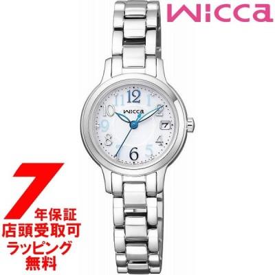 CITIZEN シチズン wicca ウィッカ 腕時計 KH4-912-11 ウォッチ ソーラーテック シンプルアジャスト レディース