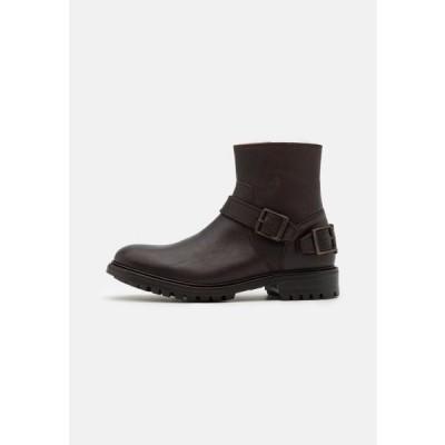 ベルスタッフ メンズ 靴 シューズ TRIALMASTER - Classic ankle boots - chocolate
