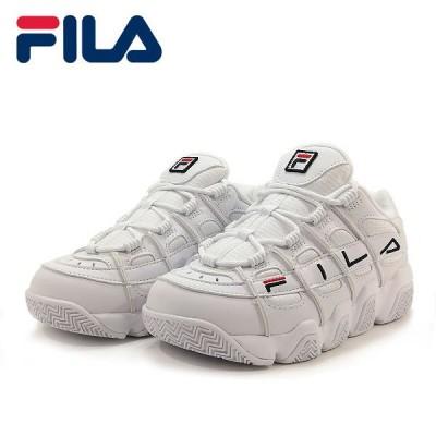 フィラ フィラバリケード ローカット スニーカー ファッション スポーツ カジュアル 厚底 レディース ウィメンズ ホワイト 靴 0125