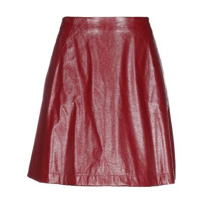 ロートレ ショーズ L' AUTRE CHOSE ひざ丈スカート ボルドー 46 ポリエステル 100% ひざ丈スカート