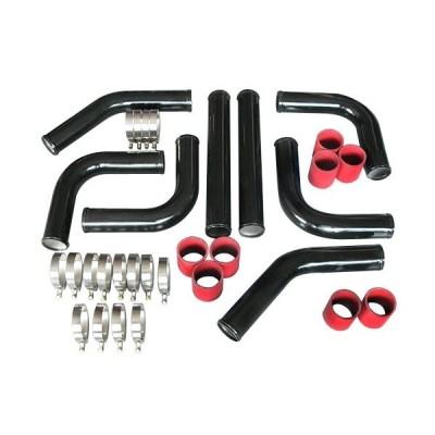 2.5 Inch Intercooler piping kit Black Powder Coated