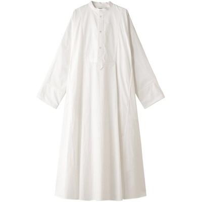 INSCRIRE アンスクリア コットンタイプライタードレス レディース ホワイト 38