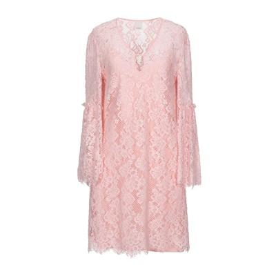 ピンコ PINKO ミニワンピース&ドレス ピンク 40 コットン 98% / ナイロン 2% ミニワンピース&ドレス