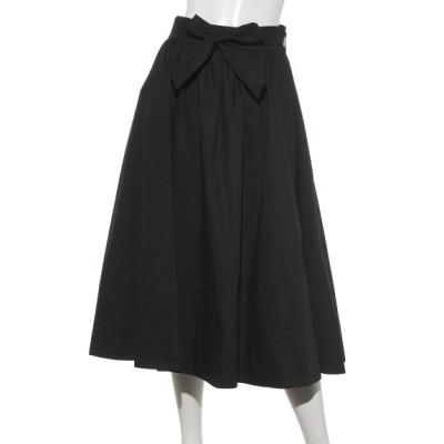 a.n.l (エー・エヌ・エル) レディース a.n.lタイプライタースカート ブラック M