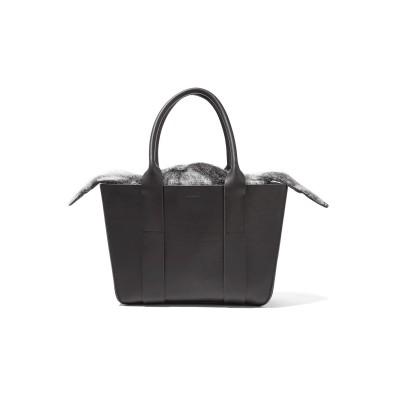 MUUÑ ハンドバッグ ブラック 革 ハンドバッグ