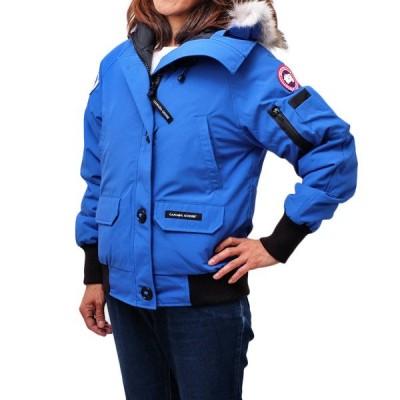 カナダグース CANADA GOOSE CHILLIWACK BOMBER PBI ファー&フード付 ダウンジャケット アウター ブルゾン ブルー [レディース] 7999LPB 64 ROYAL PBI BLUE