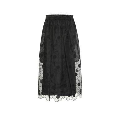 モンクレール Moncler Genius レディース ひざ丈スカート スカート 4 moncler simone rocha silk skirt
