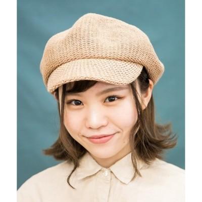 帽子 キャスケット CHUBBY CASQUETTE PUFF【マリンキャスケット】