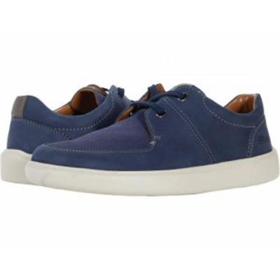 Clarks クラークス メンズ 男性用 シューズ 靴 スニーカー 運動靴 Cambro Lace Dark Blue Combi Nubuck【送料無料】