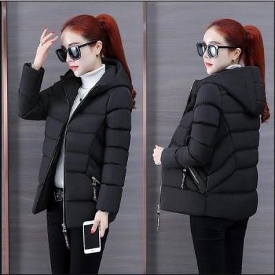 中綿ジャケット 上着 韓国風 レディース ショート丈コート カジュアル 防寒 防風 OL 通勤 暖かい アウター 学生 希少 通学 上質コート