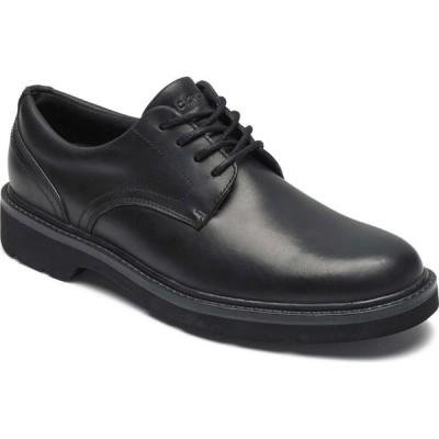 ロックポート ROCKPORT メンズ 革靴・ビジネスシューズ ダービーシューズ シューズ・靴 Charlee Waterproof Plain Toe Derby Black