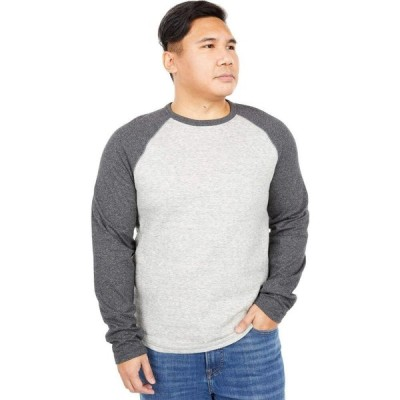 ラッキーブランド Lucky Brand メンズ トップス Duofold Baseball Shirt Heather Grey