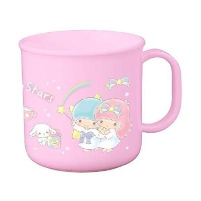 オーエスケー 子ども用コップ ピンク 容量:約200ml リトルツインスターズ プラカップ C-1
