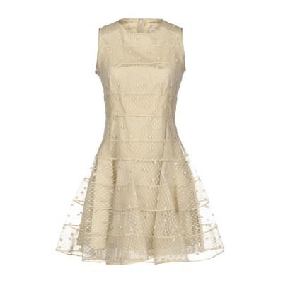 レッド ヴァレンティノ REDValentino ミニワンピース&ドレス ベージュ 44 ポリエステル 100% / ナイロン ミニワンピース&ドレス