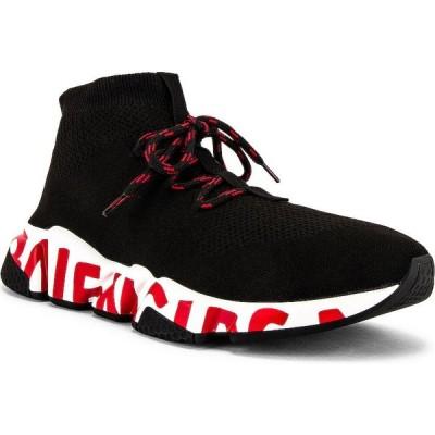 バレンシアガ Balenciaga メンズ スニーカー レースアップ シューズ・靴 speed lace-up sneaker Black/Black/White