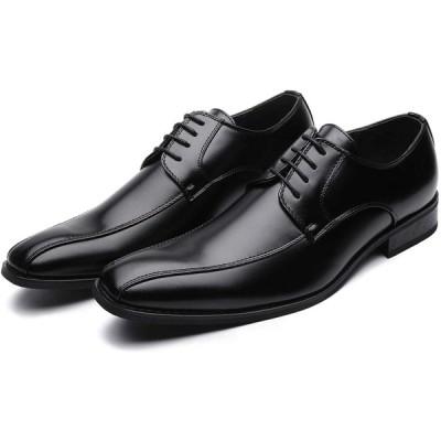 TOKYO BROTHER 東京ブラザー メンズ ビジネスシューズ 紳士靴 ドレスシューズ クッション性 防滑 602 (25.5, BLA