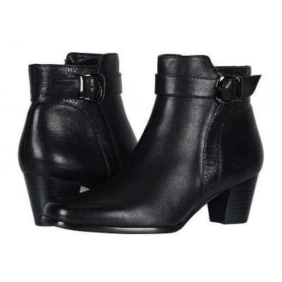 David Tate デービッドテール レディース 女性用 シューズ 靴 ブーツ アンクルブーツ ショート Berlin - Black Lamb
