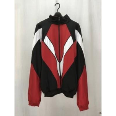 【古着】WILLY CHAVARRIA ウィリーキャバリエ FW17K34 ジャージ タグ付き 赤 RED 黒 BLACK M/トップス【中古】[☆3][12251-202