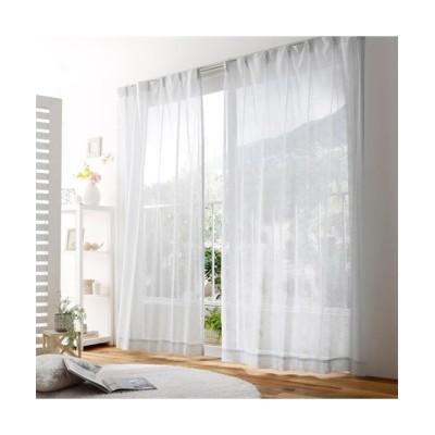 遮像ボイルレースカーテン(ラッカープリントで表現した小花柄) レースカーテン・ボイルカーテン, Curtains, sheer curtains, net curtains(ニッセン、nissen)