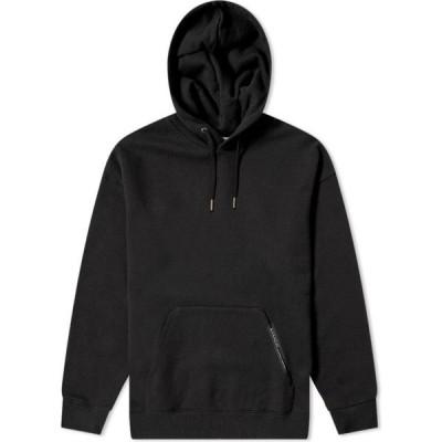 ジバンシー Givenchy メンズ パーカー トップス Tape Detail Hoody Black