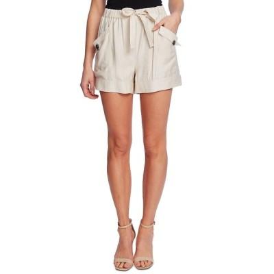 セセ カジュアルパンツ ボトムス レディース Tie-Front Pull-On Paperbag Shorts Warm Vanilla