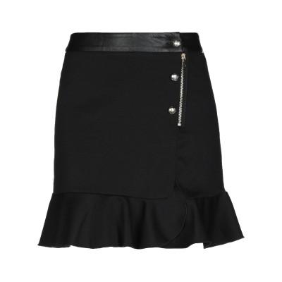 リュー ジョー LIU •JO ひざ丈スカート ブラック 42 ポリエステル 95% / ポリウレタン 5% ひざ丈スカート