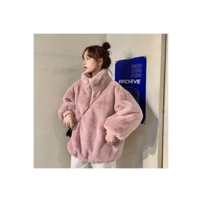 【送料無料】~ 秋冬 韓国風 オーバーサイズ 風 ルース 手厚い ヘッジ 長袖セーター 暖かい アウターウェ   346770_A64420-0260853