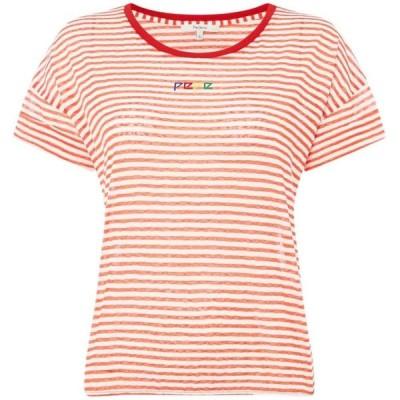ペペジーンズ Pepe Jeans レディース Tシャツ トップス Sasha T-Shirts Red