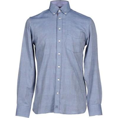 ハケット HACKETT メンズ シャツ トップス Solid Color Shirt Blue