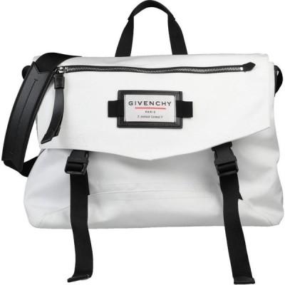 ジバンシー GIVENCHY メンズ ショルダーバッグ バッグ Cross-Body Bags White