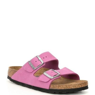 ビルケンシュトック レディース サンダル シューズ Women's Arizona Soft Footbed Sandals Purple Orchid