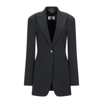 メゾン マルジェラ MAISON MARGIELA テーラードジャケット ブラック 40 ポリエステル 54% / バージンウール 44% / ポリ