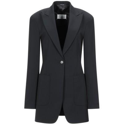 メゾン マルジェラ MAISON MARGIELA テーラードジャケット ブラック 42 ポリエステル 54% / バージンウール 44% / ポリ