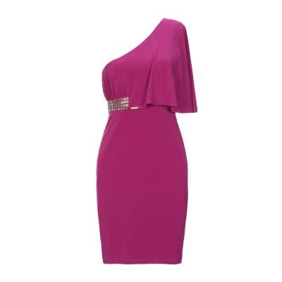 ビブロス BYBLOS ミニワンピース&ドレス パープル 42 レーヨン 100% ミニワンピース&ドレス