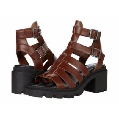 Steve Madden スティーブマデン レディース 女性用 シューズ 靴 ヒール Maxen Sandal Brown Leather【送料無料】