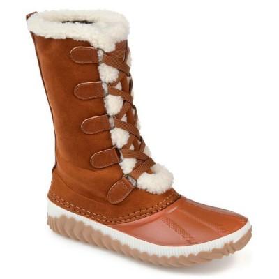 ジャーニーコレクション ブーツ&レインブーツ シューズ レディース Women's Regular Blizzard Winter Boot Tan