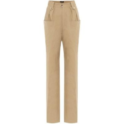 イザベル マラン Isabel Marant レディース ボトムス・パンツ yerris high-rise straight pants Camel