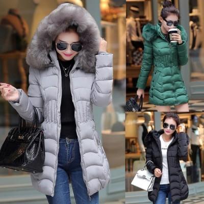 コート ダウンコート レディース 中綿 コート ダウンジャケット 秋冬 40代 カジュアル 中綿 ダウンコート 軽量 大きいサイズ ファーフード