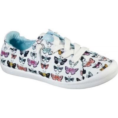 スケッチャーズ Skechers レディース スニーカー シューズ・靴 BOBS Beach Bingo Catterfly Sneaker White/Multi
