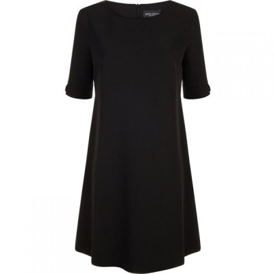 ジュームズ レイクランド James Lakeland レディース ワンピース シフトドレス ワンピース・ドレス Short Sleeve Shift Dress Black