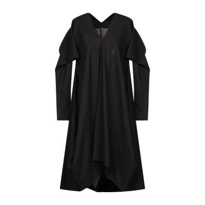 MALLONI ミニワンピース&ドレス ブラック 42 バージンウール 99% / ポリウレタン 1% ミニワンピース&ドレス
