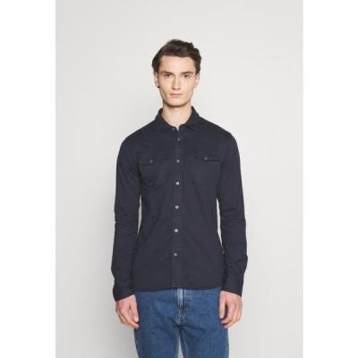 カーズジーンズ メンズ シャツ FAYED - Shirt - navy