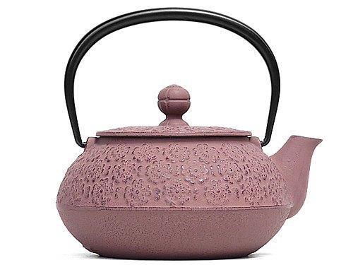 南部鐵器 茶壺 3型櫻花 0.32L