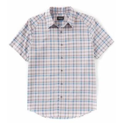 マーモット メンズ シャツ トップス Agrozonda Short-Sleeve Woven Shirt Bright Steel