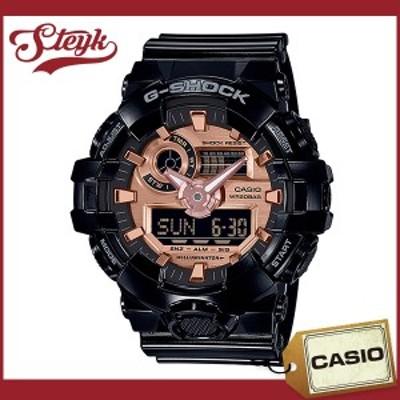 CASIO GA-700MMC-1A カシオ 腕時計 アナデジ G-SHOCK Gショック メンズ ローズゴールド ブラック カジュアル