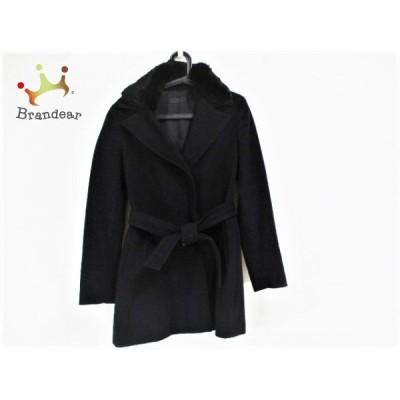 アイシービー ICB コート サイズjpn13 L レディース 美品 - 黒 長袖/冬   スペシャル特価 20210106