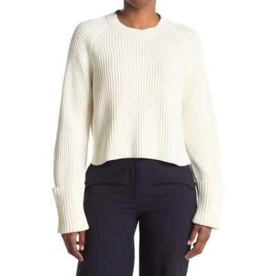 プロエンザショラー レディース ニット&セーター アウター Cropped Pullover Sweater OFF WHITE/CINNAMON/N