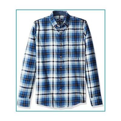 IZOD メンズ スリムフィット ストラットン 長袖 ボタンダウン 格子柄 フランネルシャツ US サイズ: 2X-Large